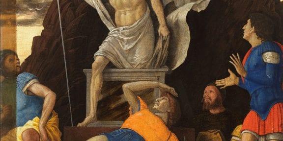 Andrea Mantegna, Resurrezione di Cristo, 1492 circa, Accademia Carrara Bergamo