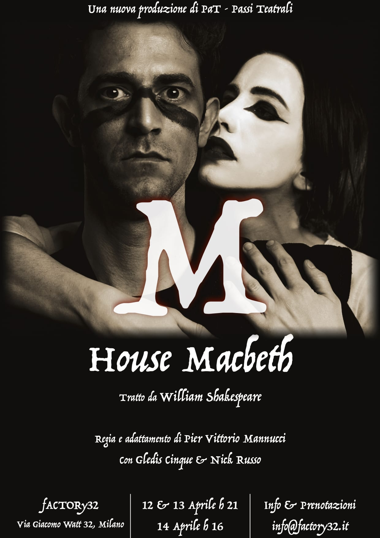House Macbeth, la prospettiva del potere in scena a Milano