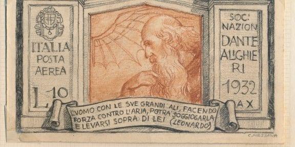 Bozzetto leonardesco di Corrado Mezzana