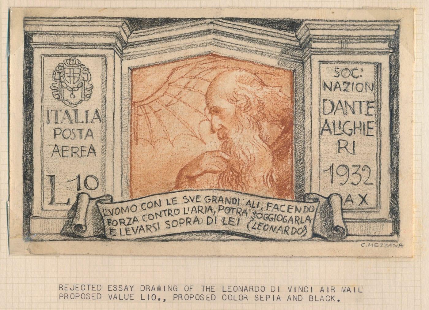Il classicismo filatelico di Corrado Mezzana