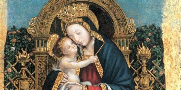 Defendente Ferrari, Madonna e quattro santi, 1500-1505,tavole, 135 x 285 cm ca. Biella, Museo del Territorio 2