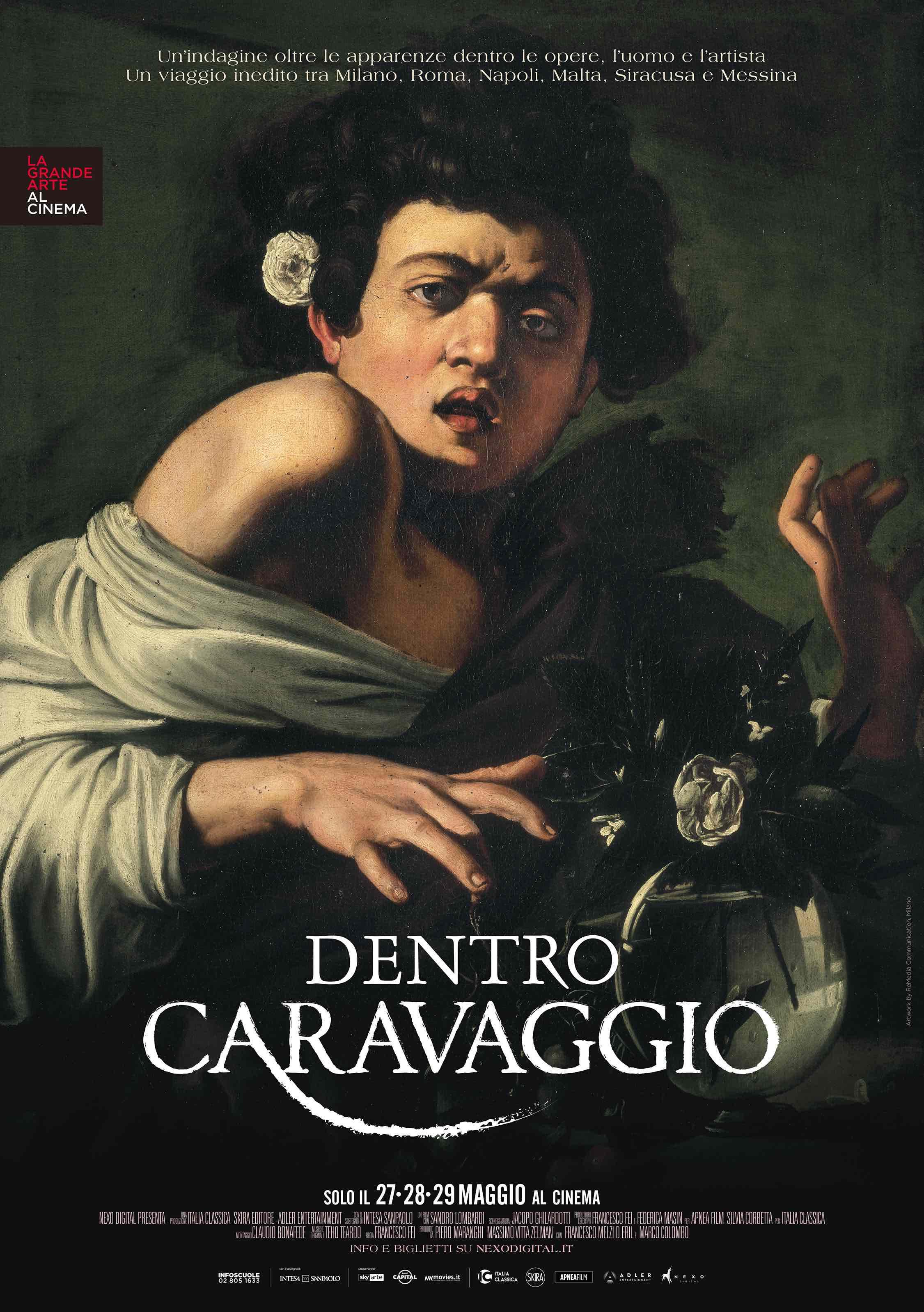Dentro Caravaggio, nuovo appuntamento con la Grande Arte al Cinema