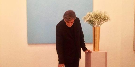 Ettore Spalletti, Ombre d'azur, transparence, Nouveau Musée National de Monaco, Villa Paloma