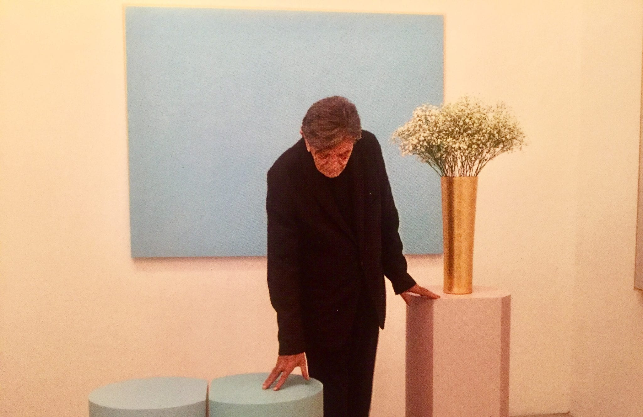 """Ettore Spalletti, artista trasparente. """"Intervista"""" dalla mostra al Musée National de Monaco"""