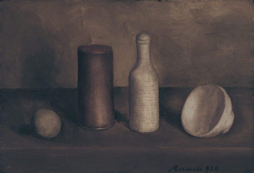 Giorgio Morandi, Natura morta, 1920, Istituzione Bologna Musei, Museo Morandi