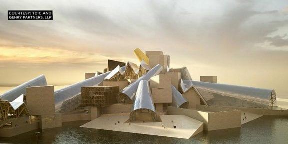 Il progetto del Guggenheim Museum Abu Dhabi