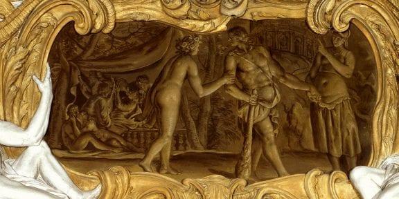 MITO. Dei ed eroi, Gallerie d'Italia di Palazzo Leoni Montanari, Vicenza, Galleria della Verità ciclo di Ercole Ercole al bivio