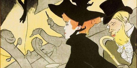 Henri de Toulouse-Lautrec Divan Japonais 1893 litografia a colori, 80,8x60,8 cm © Herakleidon Museum, Athens Greece