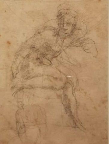 Architettura e anatomia nei disegni di Michelangelo. Una preziosa mostra a Torino