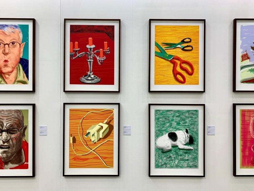 Miart 2019, David Hockney da Galerie Lelong & Co.
