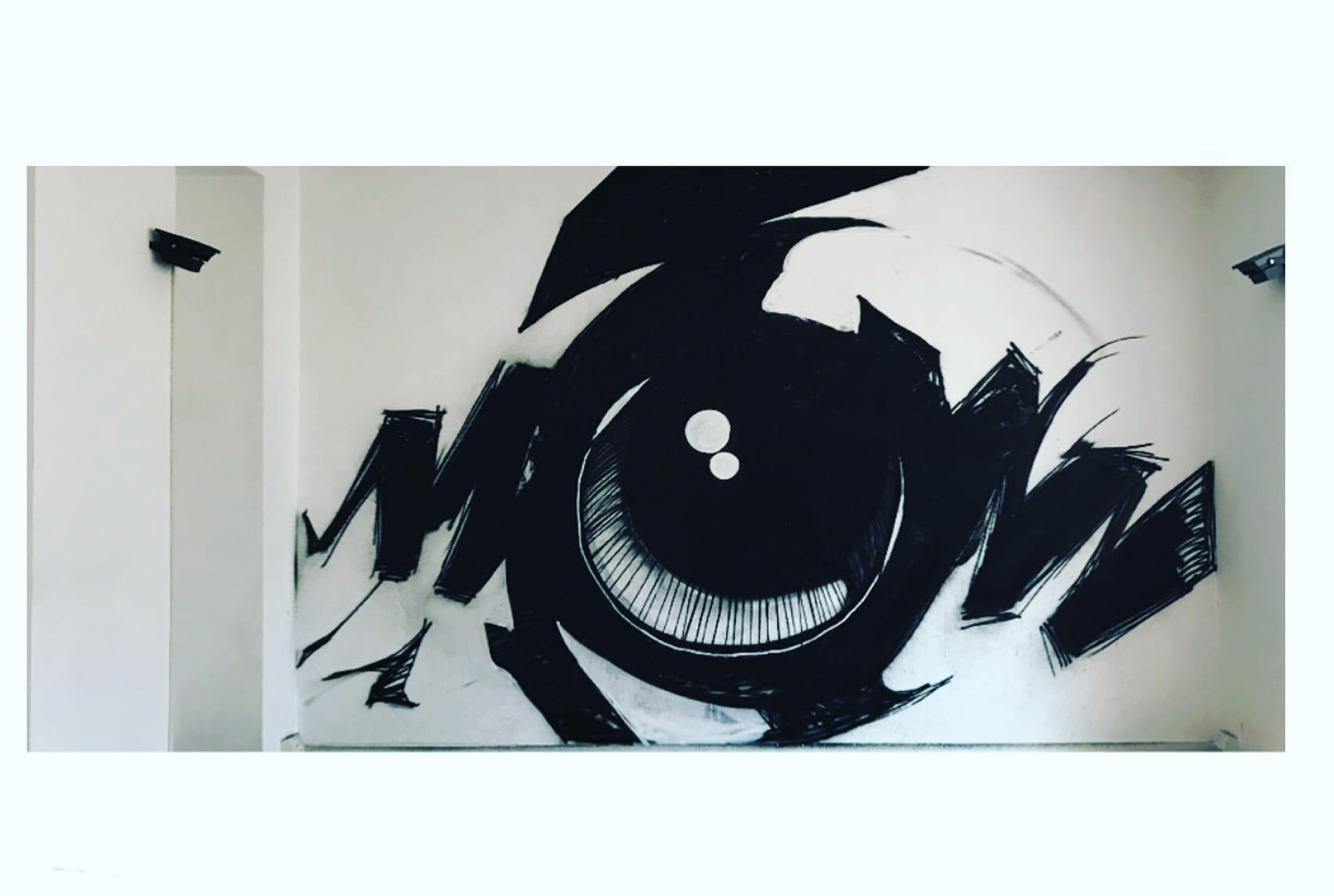 Cano, dalla street art alla pittura. Una passione per la materia