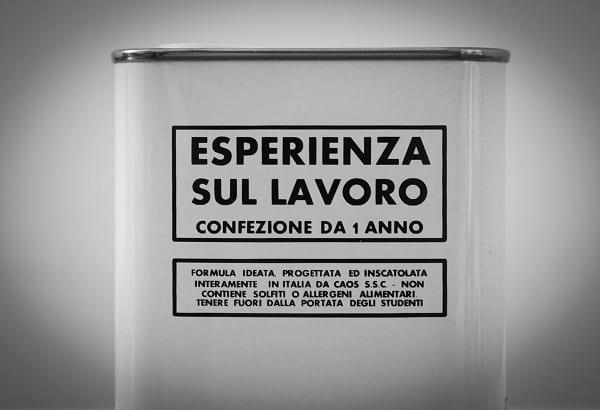 Enzimi d'artista. Le scatolette di ESPERIENZA LAVORATIVA di Benito Ligotti distribuite a Milano!
