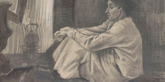 Vincent van Gogh, Ritratto di Sien Hoornik