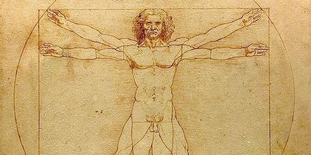 Leonardo da Vinci, Studio di proporzioni del corpo umano, detto Uomo vitruviano databile al 1490