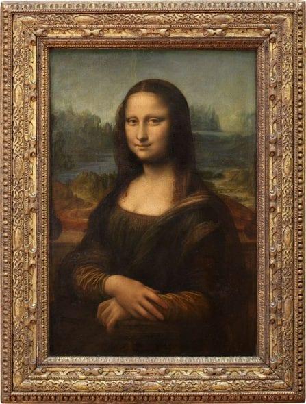 Mona Lisa, la Gioconda or la Joconde, Leonardo da Vinci (1503-06) © 2007 Musée du Louvre / Angèle Dequier