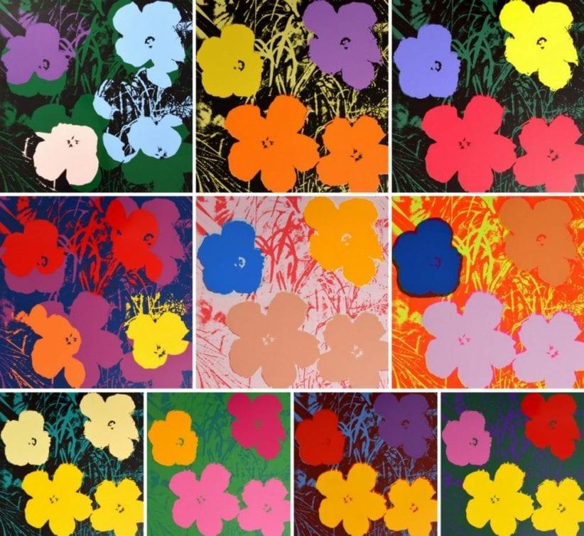 2. Le dieci varianti di colore dei Flowers