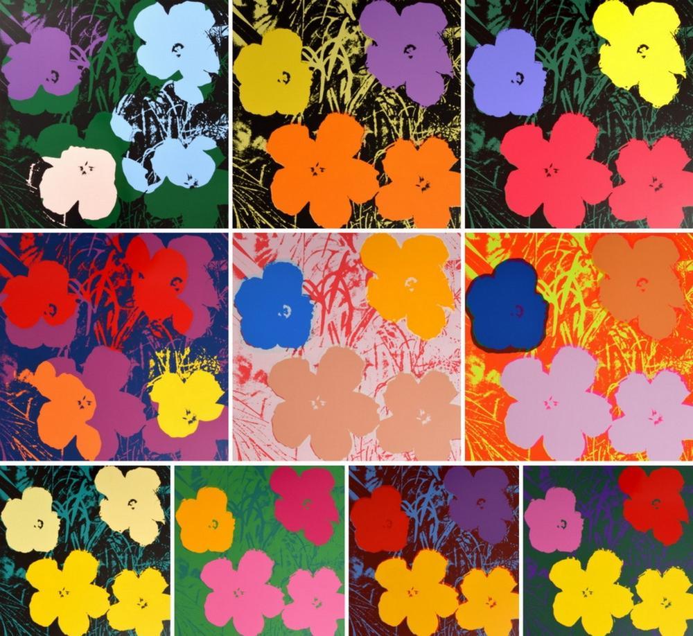 Warhol & Indiana. Spring in Love. Da Restelliartco una mostra sulla storia dei Flowers e del Love