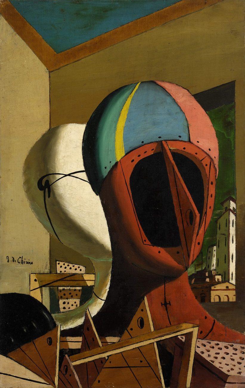 Giorgio deChirico, Muse metafisiche