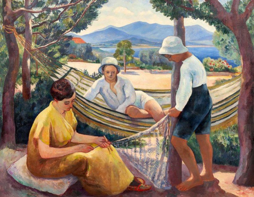 Henri Charles Manguin, Le filet