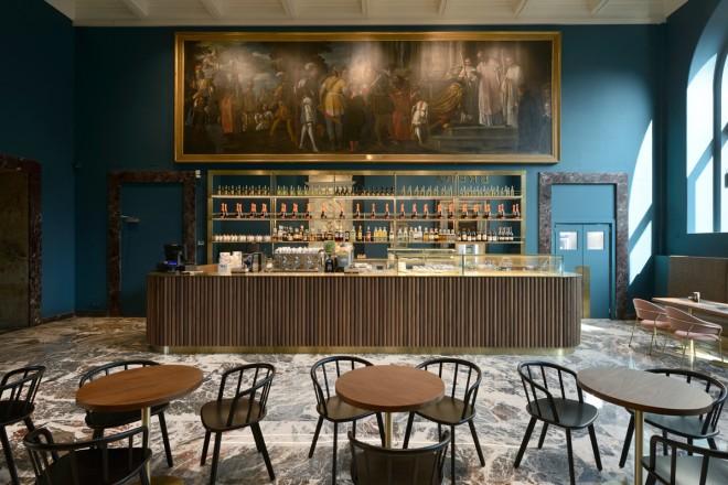 Gruppo Fabbro e Filippo La Mantia, sodalizio artistico per il Caffe' Fernanda della Pinacoteca di Brera