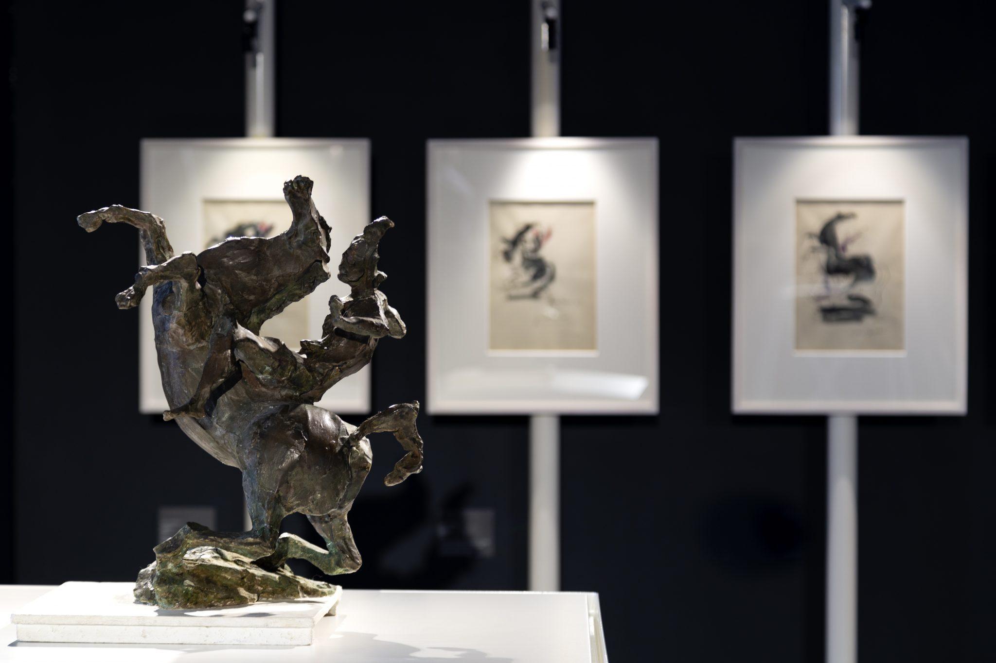 Leonardo Da Vinci attraverso l'opera di Lucio Fontana. Al Museo del 900 di Milano