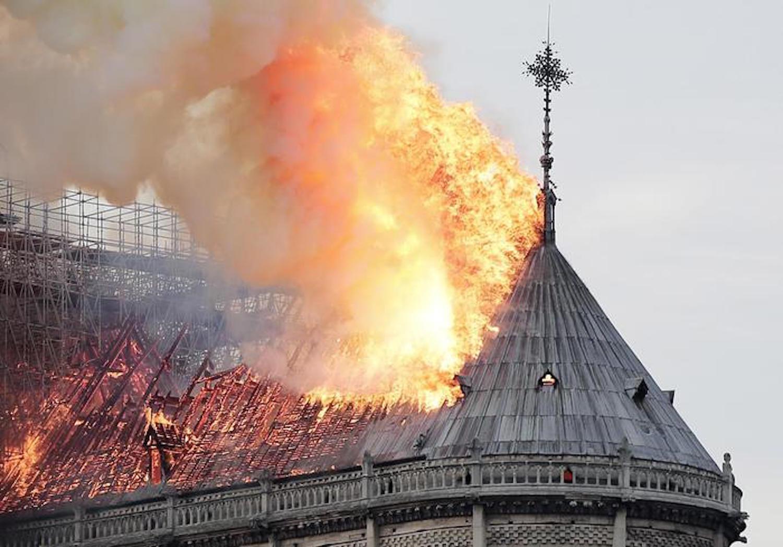 L'incendio a Notre Dame