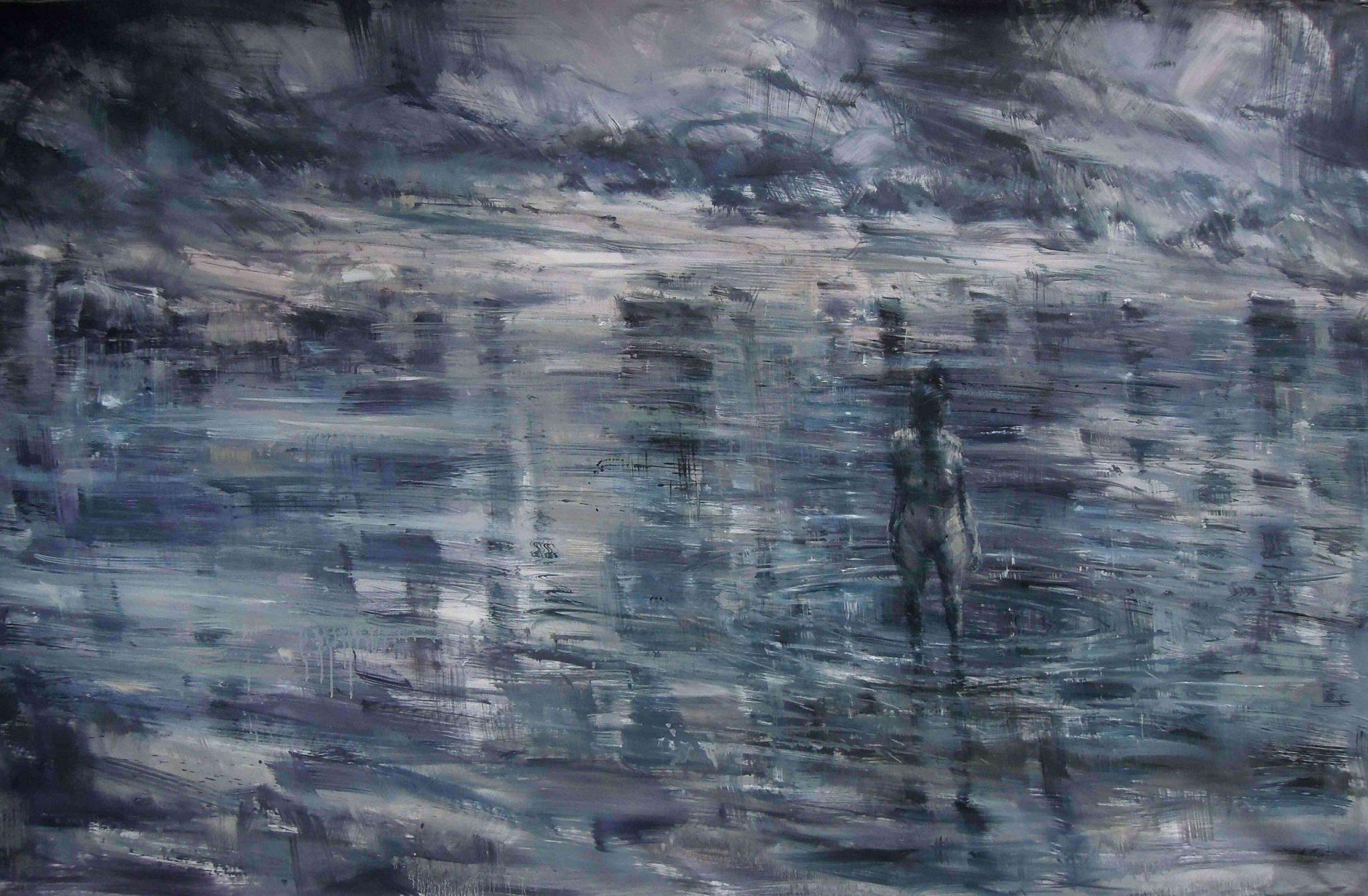 Descrizione di un dipinto immaginario. La penna di Julien Gracq è come un pennello