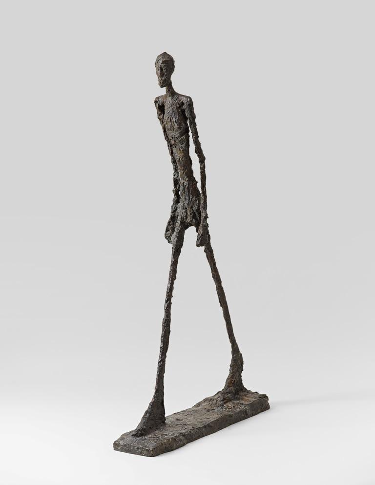 Condannati a camminare. La scultura esistenzialista di Giacometti in mostra a Madrid