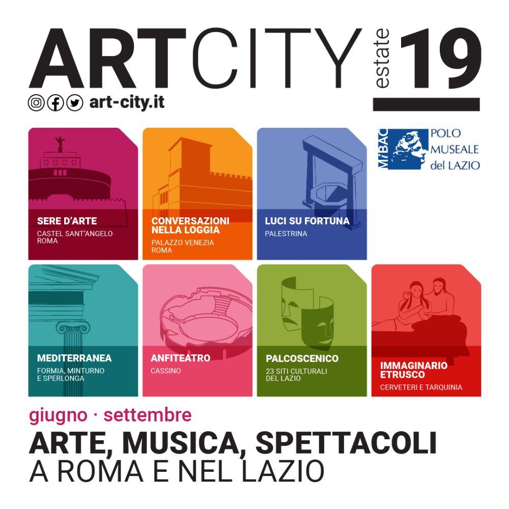 Torna ArtCity e tutto il Lazio si tinge di arte e cultura