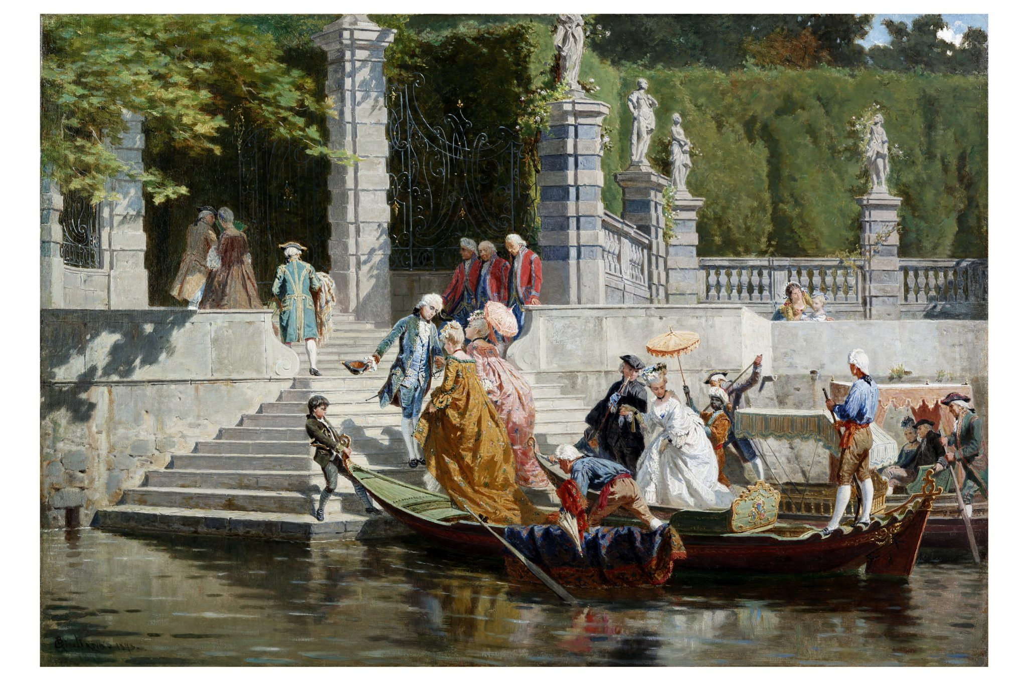 Splendori del 700 sul Lago di Como.La potente famiglia dei Clerici a Villa Carlotta