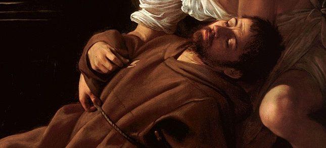 Caravaggio, San Francesco riceve le stimmate