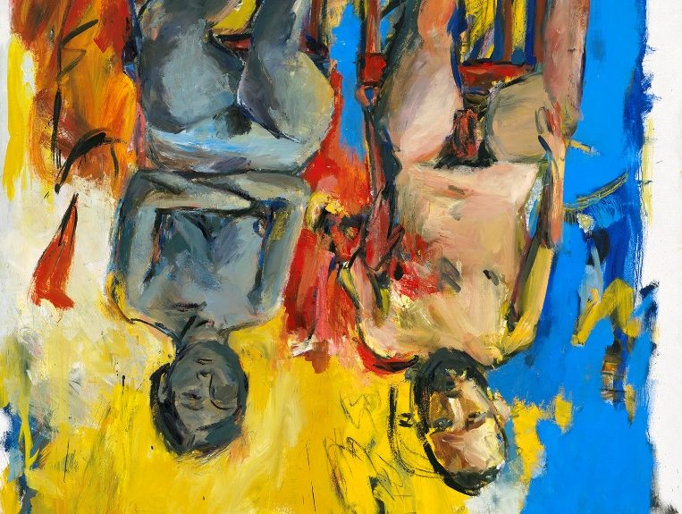 Georg Baselitz, Camera da letto, 1975
