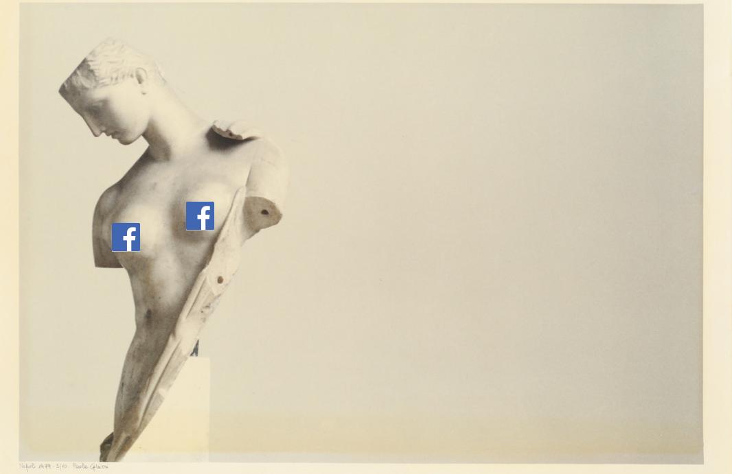 Nudità e Pornografia. La ridicola censura di Facebook chiude la pagina della casa d'aste Maison Bibelot a causa di questa foto
