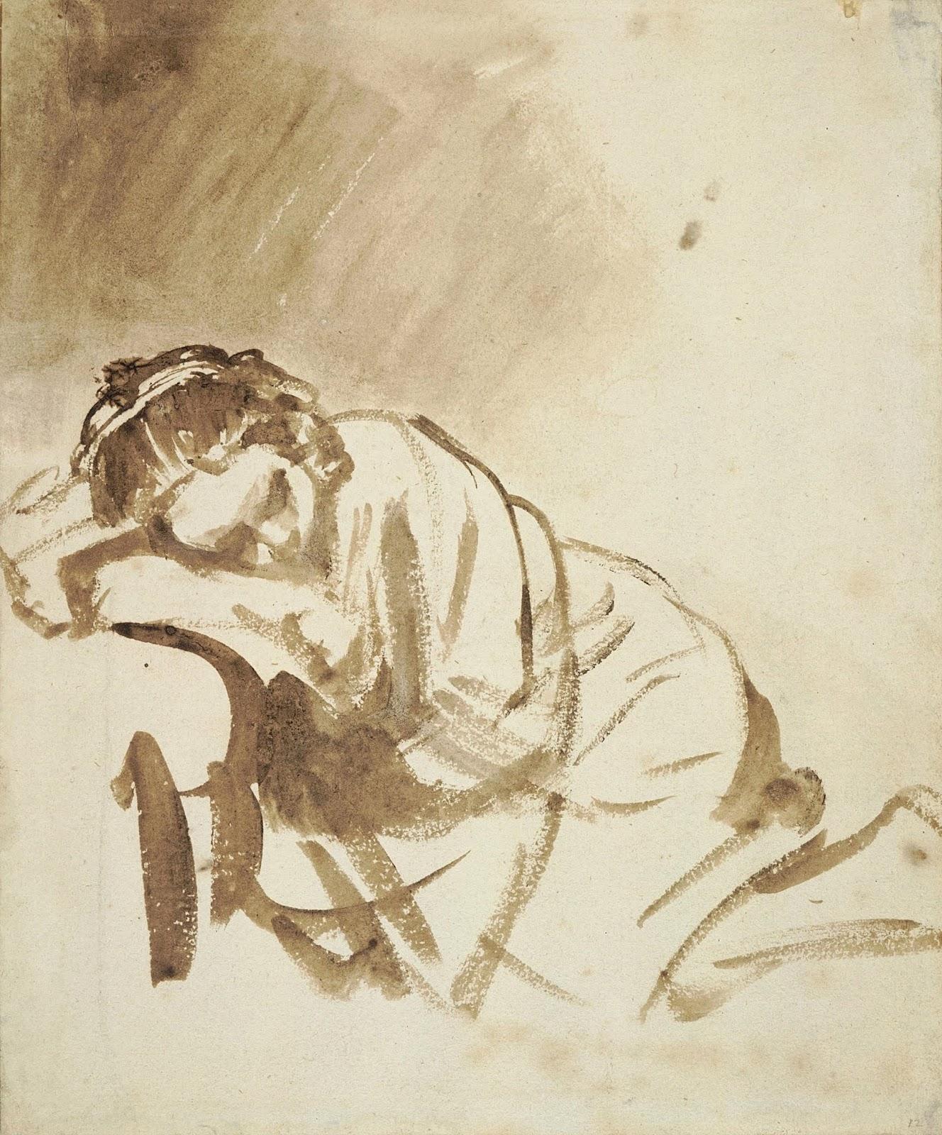 Pensieri su carta: una mostra esalta il tocco grafico di Rembrandt, a Londra