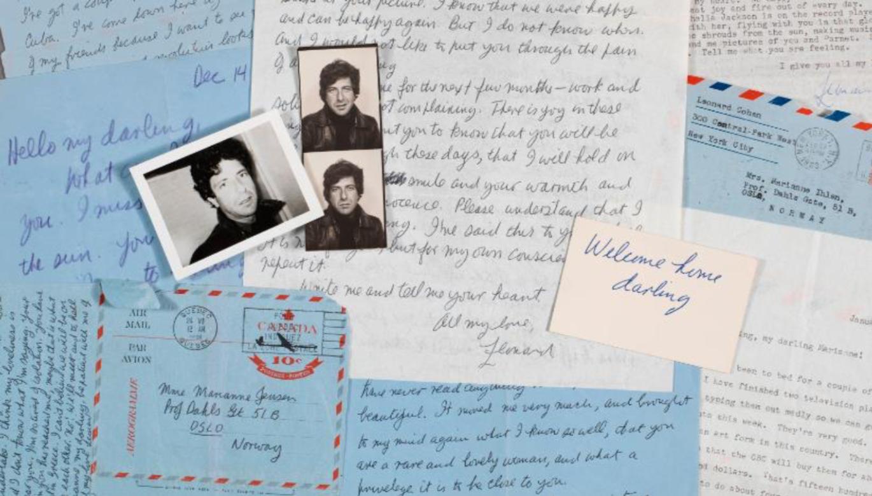 So Long, Marianne. Le poetiche lettere d'amore di Leonard Cohen in asta da Christie's