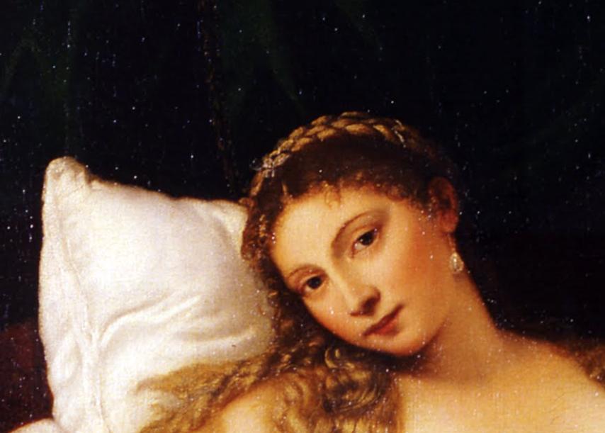 Il 'Gladiatore' incantato dalla Venere di Urbino, agli Uffizi