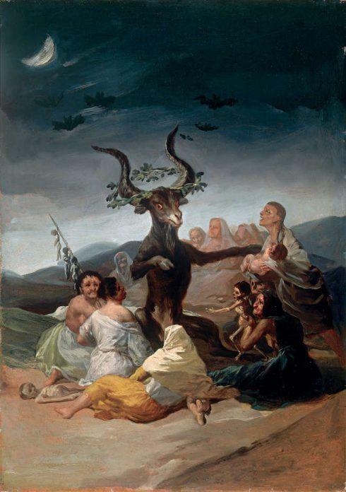 Francisco de Goya, Witches' Sabbath
