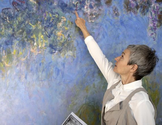 Monet, scoperta dei restauratori: sotto i glicini, le ninfee