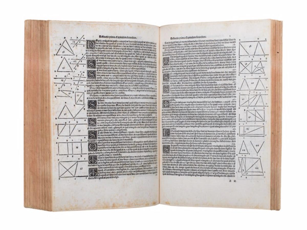 550 mila euro per la Summa di Luca Pacioli. Tiene il mercato dei libri di pregio