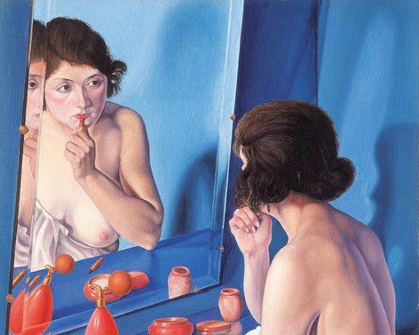 Cagnaccio di San Pietro, Allo specchio, 1927