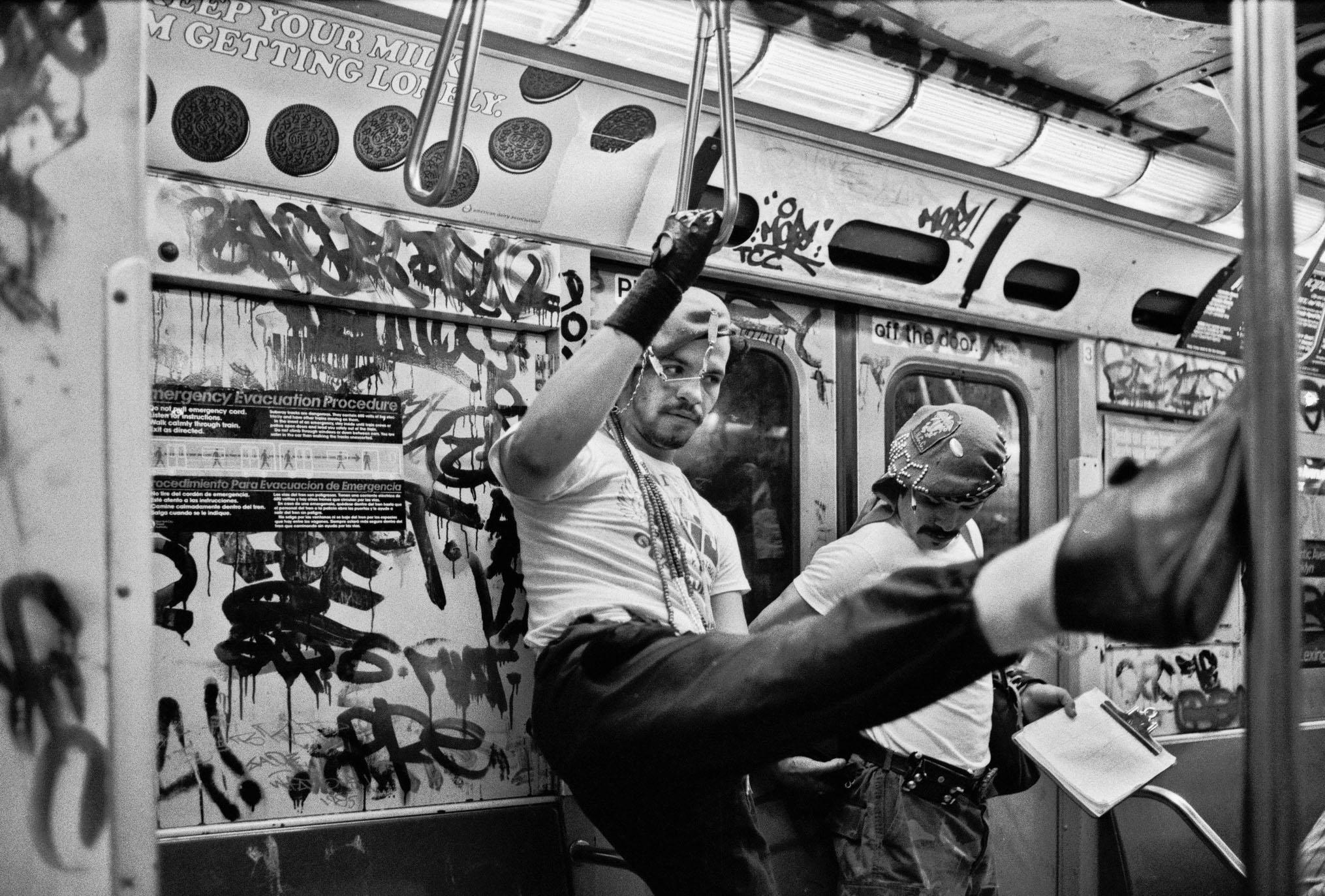 Ferdinando Scianna Tre Oci 2019, New York, 1985