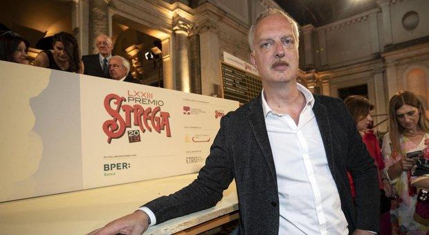 """Premio Strega 2019. Antonio Scurati con """"M. Il figlio del secolo"""""""