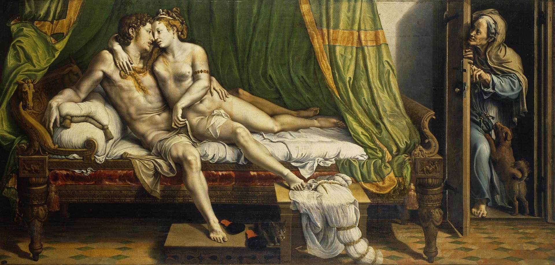 Giulio Romano, Due Amanti