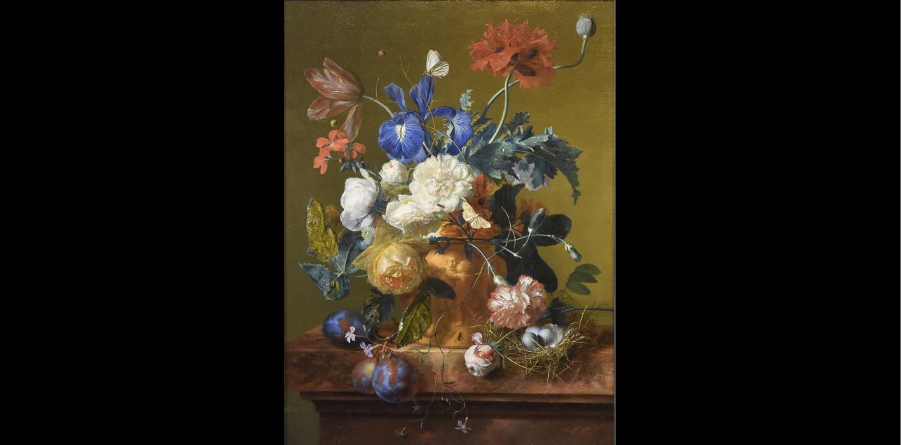 Il Vaso di fiori di Jan van Huysum rientrato a Firenze