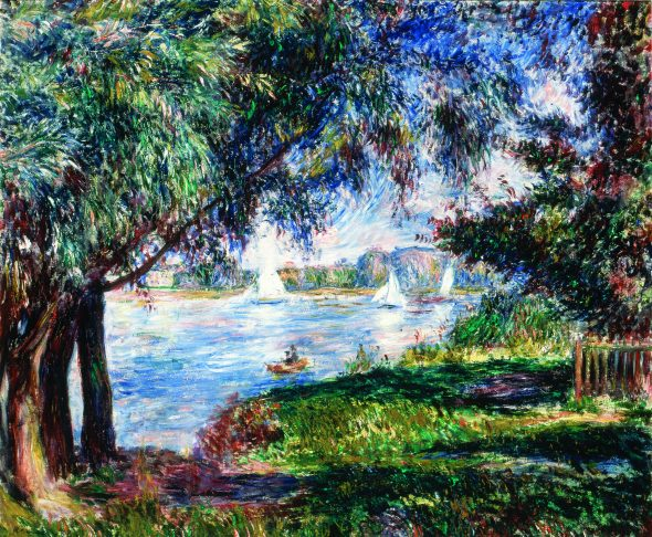 Pierre-Auguste Renoir Bougival , 1888 Olio su tela, 54x65 cm Collezione Pérez Simón, Messico