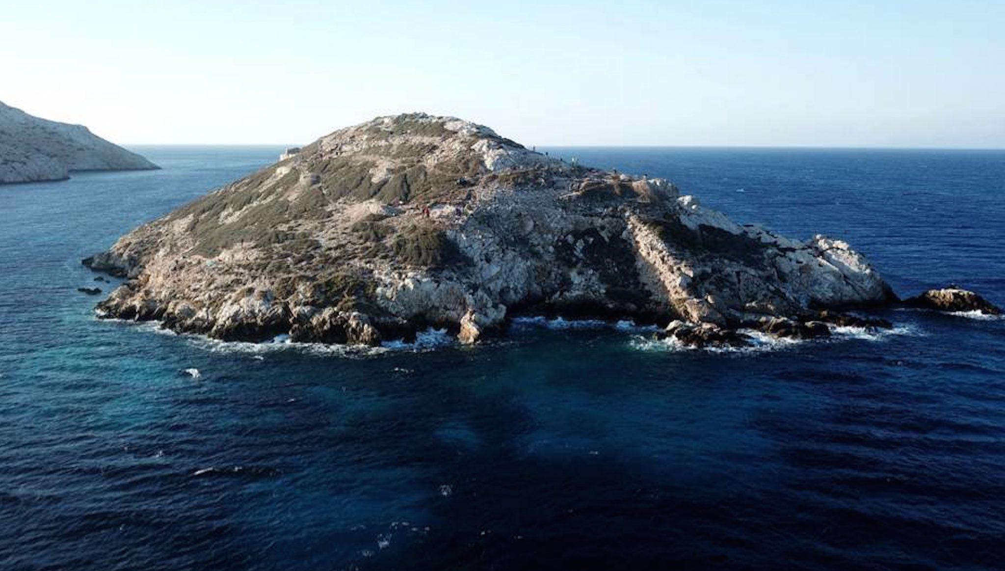 L'isolotto greco di Daskalio