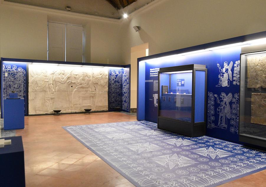 Gli Assiri all'ombra del Vesuvio, MANN, Museo Archeologico Nazionale di Napoli,