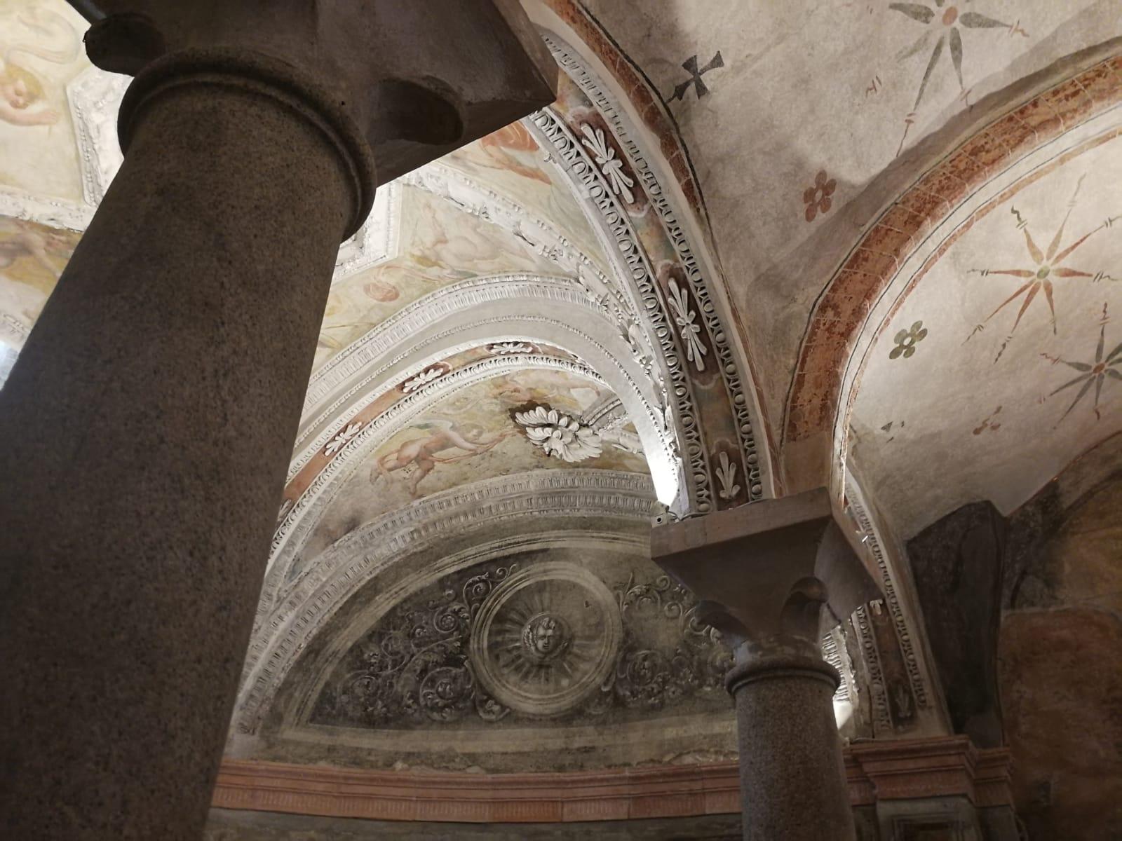 Cripta della Chiesa di San Sepolcro, MIlano