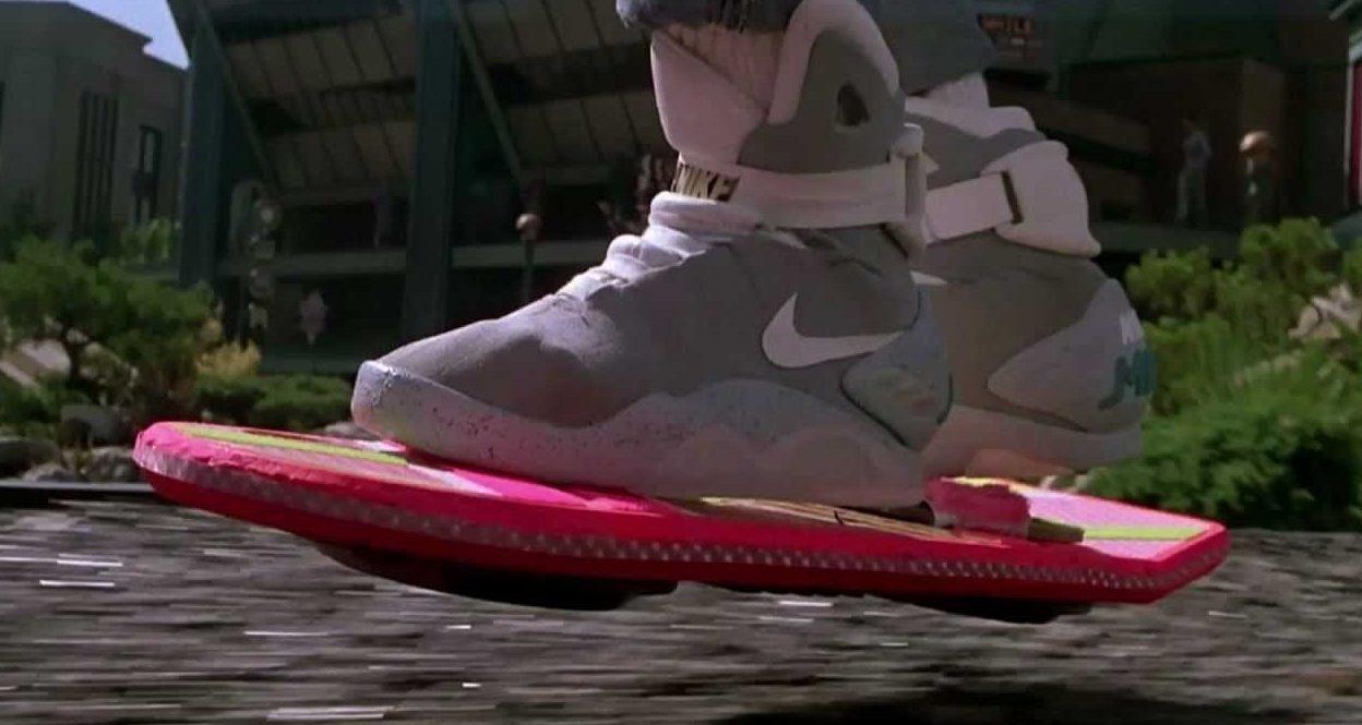 """Le Nike Mag nel film """"Ritorno al futuro II"""""""