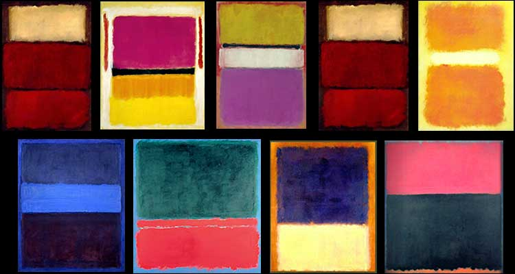 Quando nel nulla del colore Mark Rothko trovò il tutto